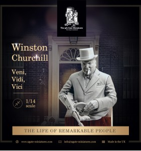 "Winston Churchill Bust ""Vidi"""