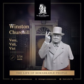 "Winston Churchill Bust ""Veni"""
