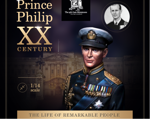 Young Prince Philip Duke of Edinburgh