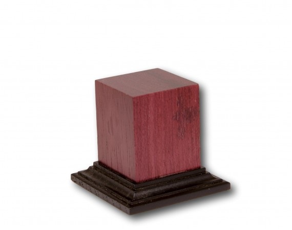 Purpleheart Wood Base