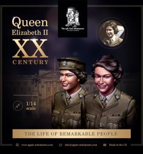Princes Elizabeth at Military Service