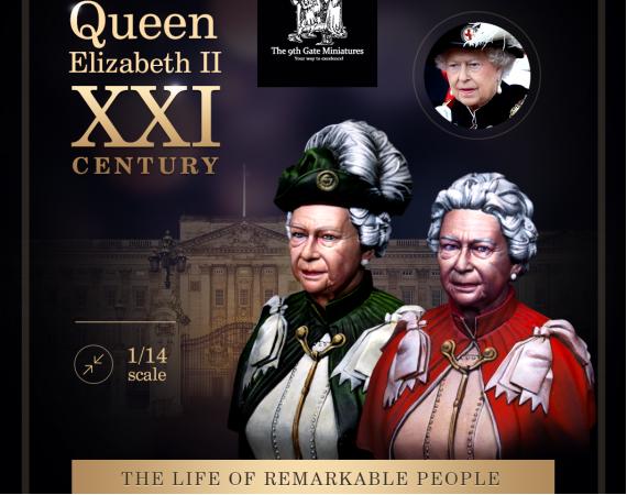 Queen Elizabeth II at Ceremonial Event